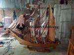 Replika Perahu Layar Phinisi Jati