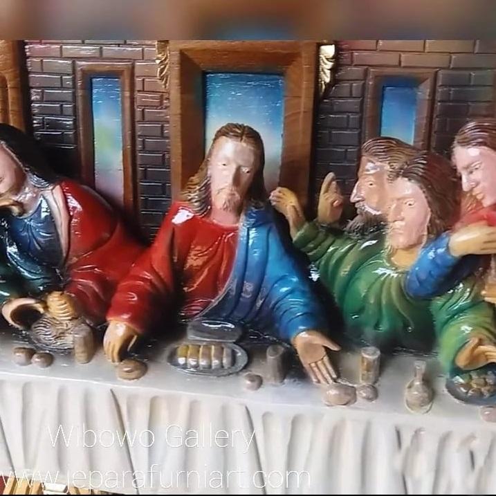 Relief Perjamuan Terakhir Yesus