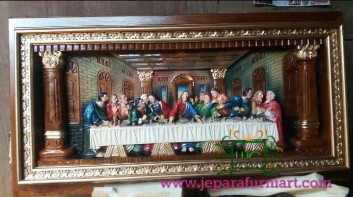 Relief Perjamuan Akhir