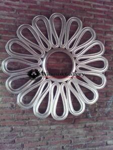 Cermin Minimalis Duco Silver