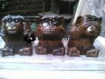 Patung Monyet Kayu Jati