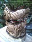Patung Ikan Arwana Sepasang