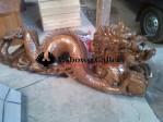 Patung Naga Ukiran Jepara