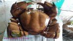 Patung Kepiting Kayu Trembesi