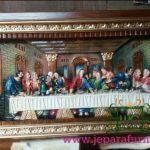 Relief Perjamuan Terakhir Warna